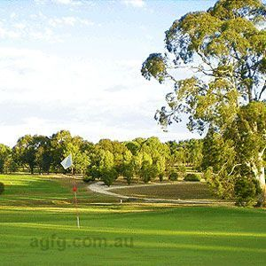 Golfing in the Adelaide Hills