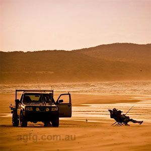 Fishing on the Fraser Coast