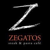 Zegatos Steak & Pasta Cafe Logo