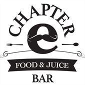 Chapter E Food & Juice Bar Logo