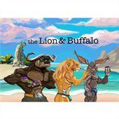 The Lion and Buffalo