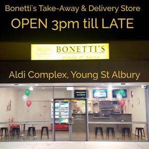 Bonetti's Pizzeria Takeaway & Delivery