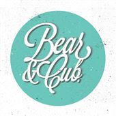 Bear & Cub Logo