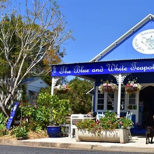 The Blue and White Teapot