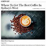 Black Brew Espresso Regents Park