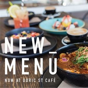 Doric Street Cafe + Kitchen