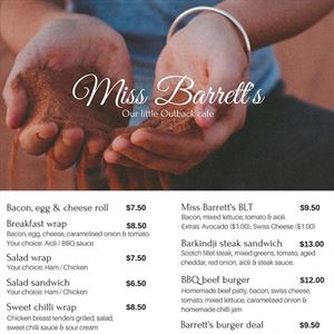Miss Barrett's