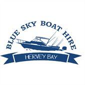 Blue Sky Boat Hire Logo