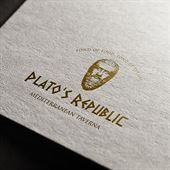 Plato's Republic Mediterranean Taverna Logo