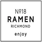 No.18 Ramen - Richmond Logo