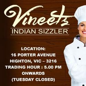 Vineet's Indian Sizzle Torquay