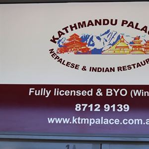 Kathmandu Palace Nepalese & Indian Restaurant