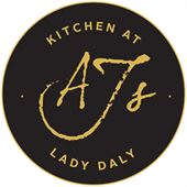 AJ's Kitchen @ The Lady Daly Logo