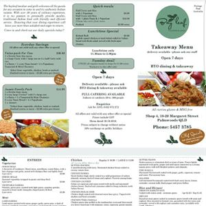 Bay Leaf Tandoor & Grill