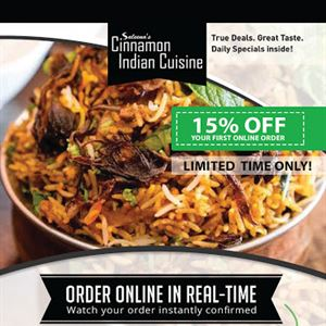 Saleena's Cinnamon Indian Cuisine