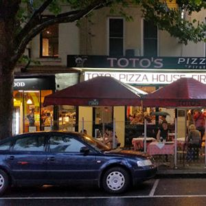 Toto's Pizza House South Melbourne