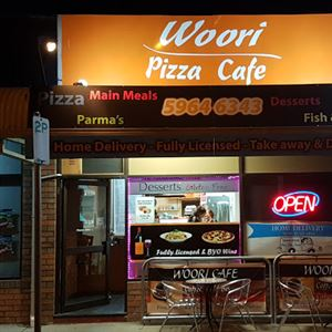 Woori Pizza Cafe