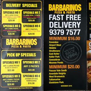 Barbarino's Pizza