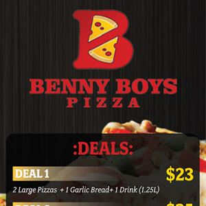 Benny Boy's Pizza Ferntree Gully