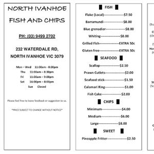 North Ivanhoe Fish & Chips