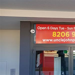 Uncle john pizza