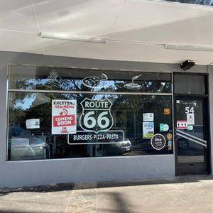 Route 66 Burgers Pizza Pasta