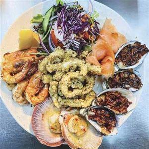 Sea and shore restaurant
