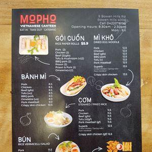 Mo'Pho Vietnamese Canteen