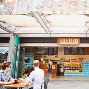 Blue Door Kiosk