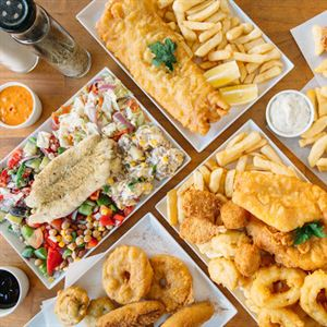 Santorini Fish and Chips