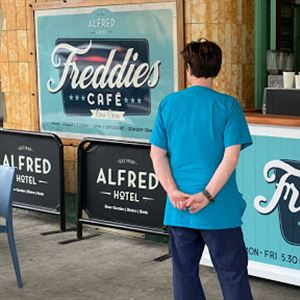 Freddies Cafe and Coffee Cart