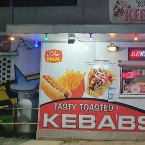 Tasty Toasted Kebabs