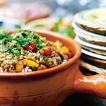 Roasted Vegetables with Farro