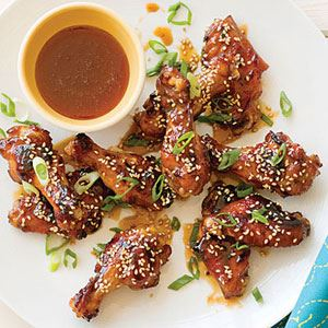 Honey Sesame Grilled Chicken Wings