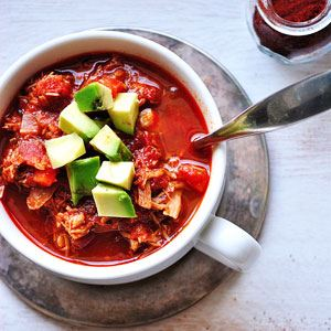 Slow Cooker Pulled Pork Chilli