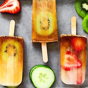 Pimm's Cup Popsicles