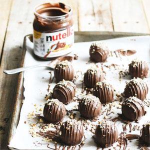 Nutella Cake Balls