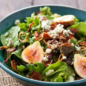 Fig and Pickled Date Salad