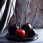 Halloween Toffee Apples