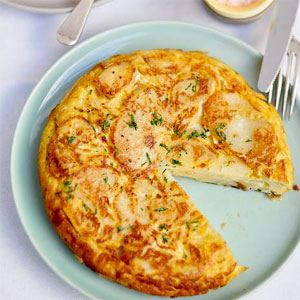 Spanish BBQ Tortilla