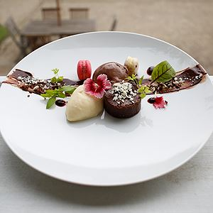 Chocolate Elements Plate