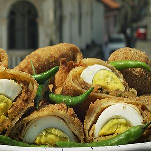 Sri Lankan Egg Rolls