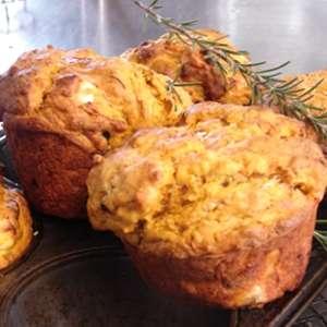Pumpkin & Fetta Muffins