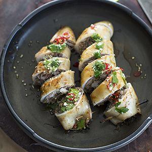 Vietnamese Stuffed Calamari