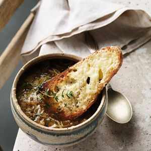 French Onion Soup Gratinee - Chef Recipe by Kate Gibbs