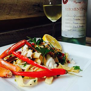 Chilli, Lime and Chive Crab Linguine - Chef Recipe by Shawn Sheather