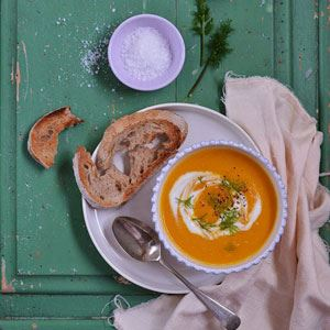 Alice Hart's Roast Carrot and Fennel Soup