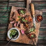 Brazilian Churrasco with Three Sauces - Chef Recipe by Jennifer Joyce