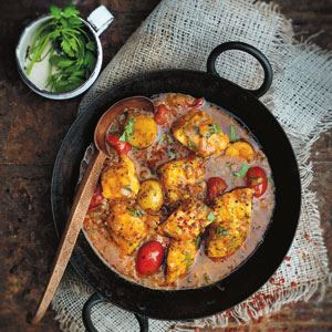 Chermoula, Tomato and Fish Tagine - Chef Recipe by Jennifer Joyce