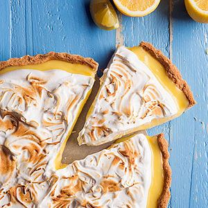 Winter Citrus Meringue Tart